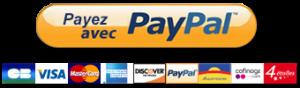 Bouton Payer avec PayPal